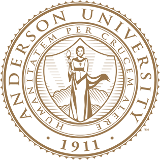 The Anderson University Seal