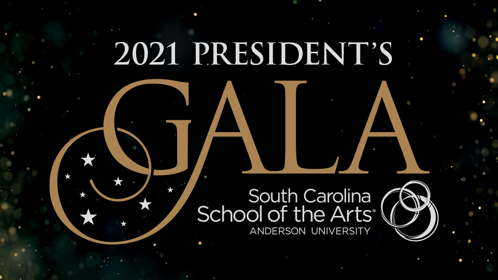 Logo of the Anderson University President's Gala