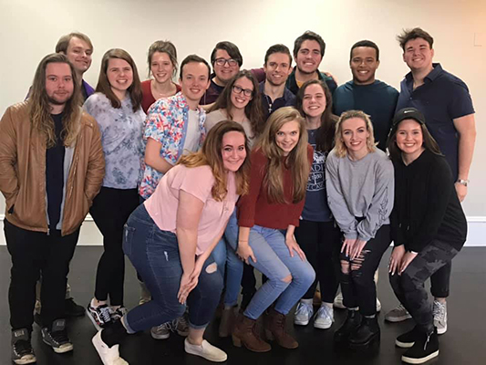 Broadway Star Visits AU Theatre and Dance