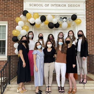 Schoo of Interior Design Students