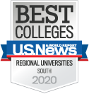 US News & World Report Best Regional Universities South 2020
