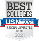 US News & World Report Best Regional Universities South 2021