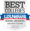 US News & World Report Best Regional Universities Undergrad Teaching 2021