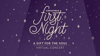 Anderson University Christmas First Night Logo